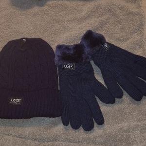 UGG hat an gloves